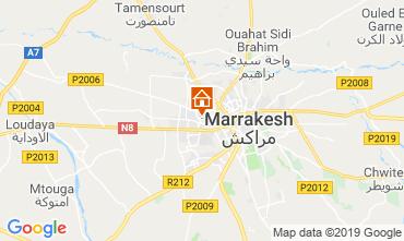 Map Marrakech Apartment 118799