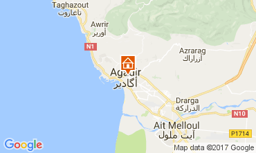 Map Agadir Apartment 88352