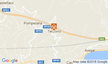 Map Santo Stefano al Mare Apartment 114448