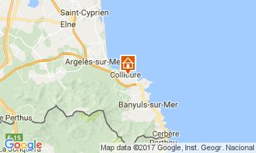 Map Collioure Apartment 98460