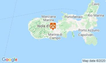 Map Campo nell'Elba Apartment 96709