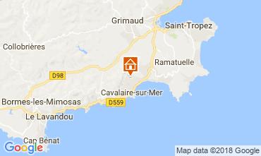 Map Cavalaire-sur-Mer Apartment 115354