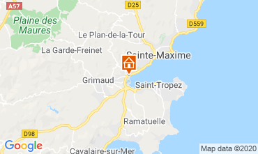 Map Port Grimaud Mobile home 113311