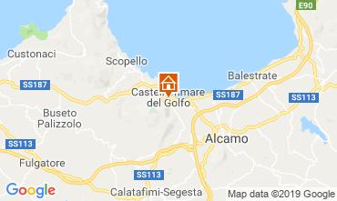 Map Castellammare del Golfo Apartment 118425