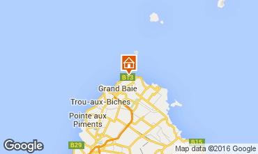 Map Grand Baie Apartment 72713