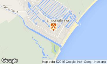 Map Empuriabrava Apartment 82822