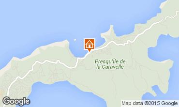 Map Tartane Bungalow 87772