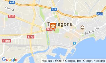 Map Tarragona Apartment 28545