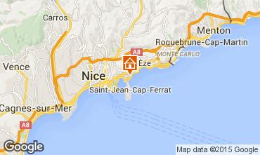 Map Beaulieu sur Mer Apartment 90459