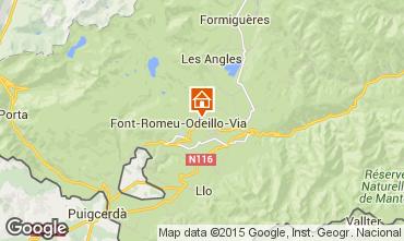Map Font Romeu Apartment 4131