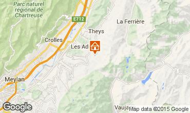 Map Les Sept Laux Apartment 73885