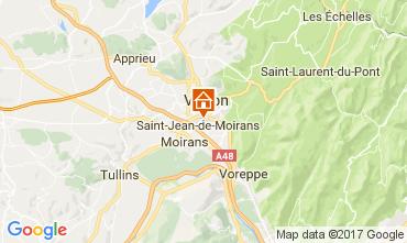 Map Grenoble Vacation rental 16078