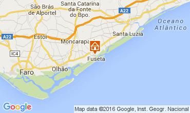 Map Fuseta Apartment 65636