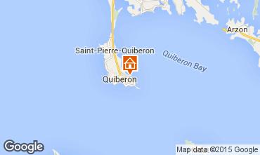 Map Quiberon One-room apartment 8768