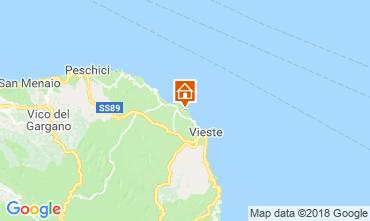 Map Vieste Apartment 79287