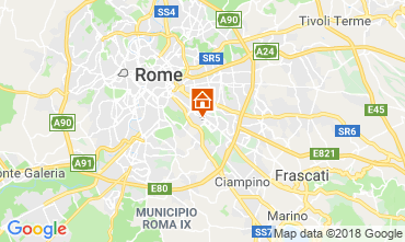 Map Rome Bed and breakfast 117444