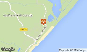 Map Saint Pierre la Mer Apartment 83265