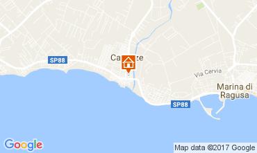 Map Marina di Ragusa Apartment 109677