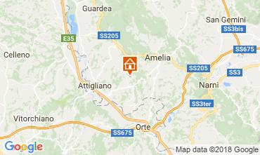 Map Amelia Villa 77711