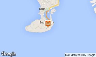 Map Nusa Dua Villa 80641