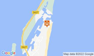 Map Port Leucate Apartment 100839