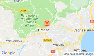 Map Grasse House 118651