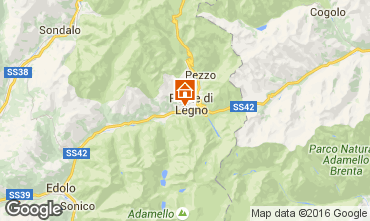 Map Ponte di Legno Apartment 69915