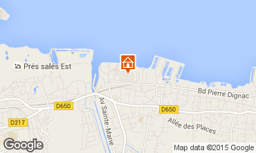 Map Arcachon Mobile home 92901