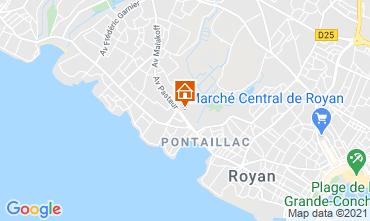 Map Royan Apartment 6844