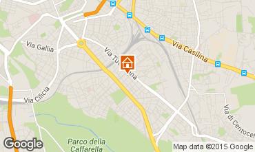Map Rome Apartment 26345