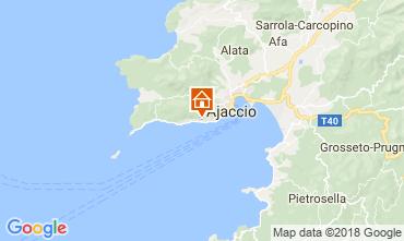 Map Ajaccio Apartment 115711