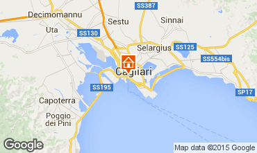 Map Cagliari Apartment 58885