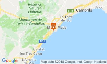 Map Miami Playa Villa 114454