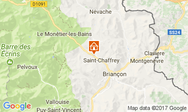 Map Serre Chevalier Apartment 58711