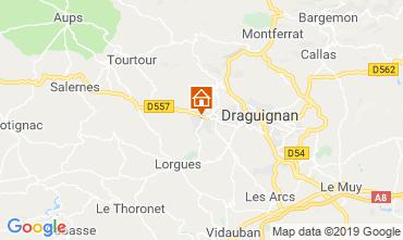 Map Draguignan Villa 117687