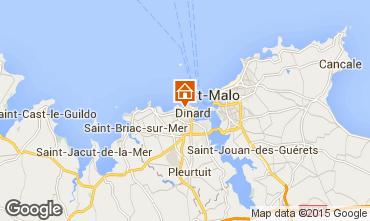 Map Dinard Apartment 20720