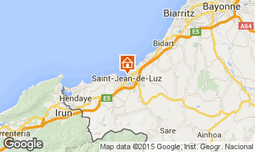 Map Saint Jean de Luz One-room apartment 9304
