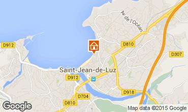 Map Saint Jean de Luz One-room apartment 9304
