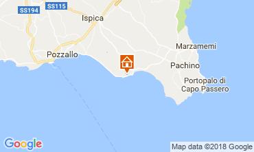 Map Ispica Villa 113249