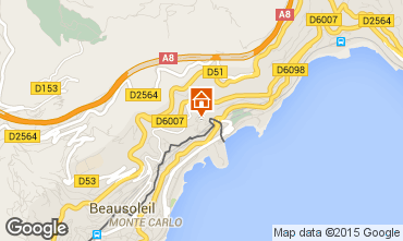 Map Monaco Apartment 60552