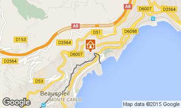 Map Monaco Apartment 60552