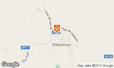 Map Villasimius Apartment 69411