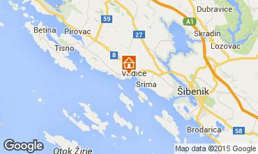 Map Vodice Apartment 92569