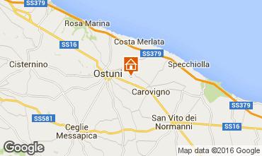 Map Ostuni Unusual accommodation 102932