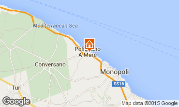 Map Polignano a Mare Apartment 63427