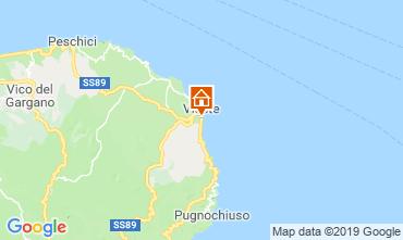 Map Vieste Bungalow 108206
