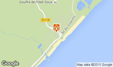 Map Saint Pierre la Mer One-room apartment 10498