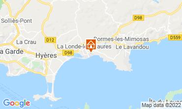 Map La Londe les Maures Apartment 68831