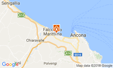 Map Falconara Marittima Apartment 99161