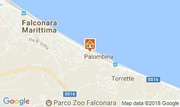 Map Falconara Marittima Apartment 99161